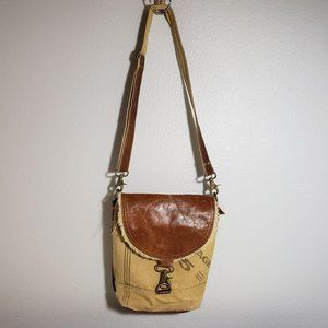Postage Canvas Shoulder Tote